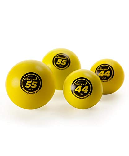 Killerspin 44 mm & 55 mm Table Tennis Balls 4-Pack 203-21