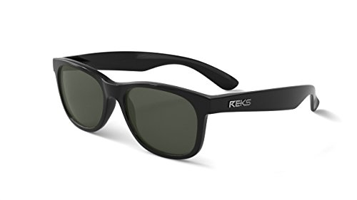REKS Unbreakable SEAFARER Sunglasses (Satin Touch Black, - Sunglasses Unbreakable