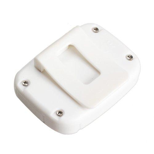 Trendyest Pod/ómetro Moderno para Caminar con Pantalla LCD Contador de calor/ías pas/ómetro Color Blanco pod/ómetro de Paso