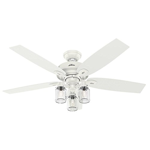 Hunter Crown Canyon 52 in. Indoor Fresh White Ceiling Fan