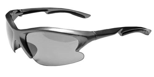 CLEARANCE!!! JiMarti JM22 Triad TR90 Frame Sunglasses with 3 Sets Interchangeable Lens (Gunmetal Grey)