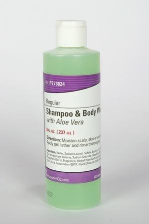 Pro Advantage P773024 Shampoo & Body Wash, 8 oz. Bottle, Flip Top Cap (Pack of 48)