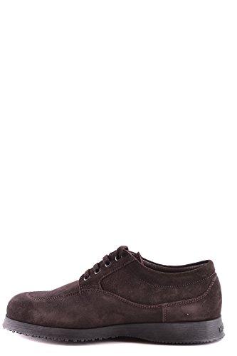 Hogan Homme MCBI148265O Marron Suède Chaussures À Lacets