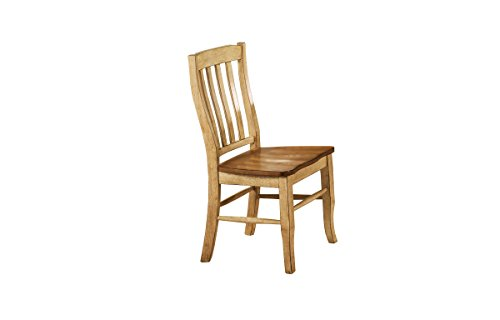 Winners Only, Inc. Quails Run 19 in. Rake Back Side Chair - Set of 2 - Set of 2 Almonds and Wheat Finish Minimal assembly required - kitchen-dining-room-furniture, kitchen-dining-room, kitchen-dining-room-chairs - 31LVvTwMl8L -