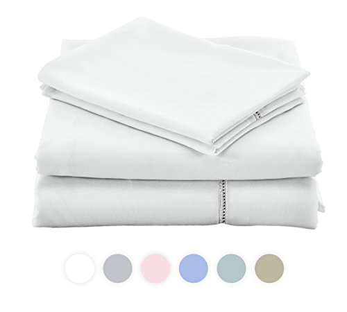 ViscoSoft GRACE Sheet Collection made with brushed Microfiber (Queen, (Signature Silk Linen Collection)