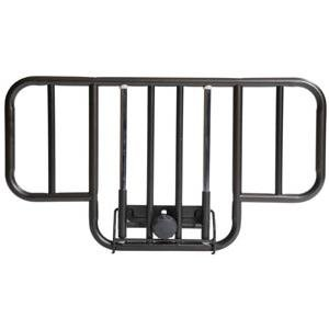 Deluxe Half Length Hospital Bed Side Rail (1 PACK, 2 EACH) - Half Bed Rails