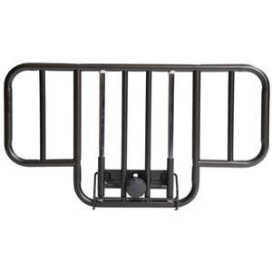 Side Acc Rail - Deluxe Half Length Hospital Bed Side Rail (1 PACK, 2 EACH)