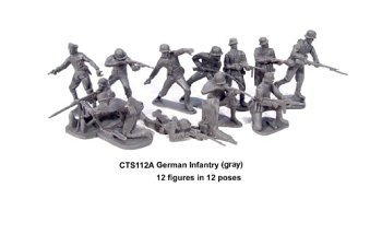 Classic Toy Soldiers WWII German Infantry 1/32 scale ()
