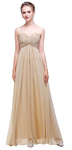 Champagne Evening Gowns - 5