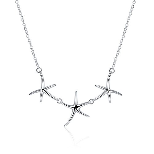 ink Chain Star Neutral Pendant Necklace (Starfish Link Necklace)