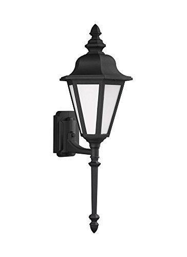 Sea Gull Lighting 89823EN3-12 Brentwood Outdoor Wall Sconce, 1-Light LED 9.5 Watts, (12 Brentwood 1 Light)