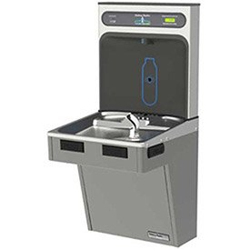 (Water Cooler W/HydroBoost Water Refilling Station, Light Gray)