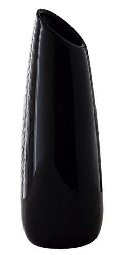 Jusalpha Elegant Home Decor Ceramic Vase 01 (Black)