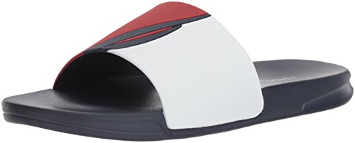 Nautica Stono 3 Sandalias para Hombre, Sport Navy/Red/White, 9 M US