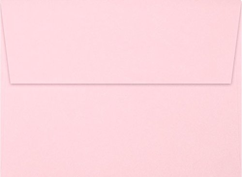 A6 Invitation Envelopes (4 3/4 x 6 1/2) - Candy Pink (50 Qty) | Perfect for Invitations, Announcements, Sending Cards, 4x6 Photos | EX4875-14-50