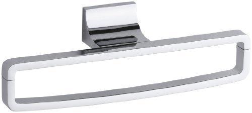 Kohler K-11587-CP Loure Towel Ring Polished Chrome [並行輸入品] B078XLG8SZ
