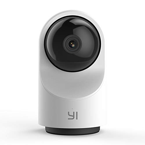 Free Storage System Track - YI Smart Dome Camera X, AI-Powered 1080p WiFi IP Home Security System with Human Detection, Sound Analytics, Image Retrieval, Time Lapse, Auto Cruise - Cloud Service Available