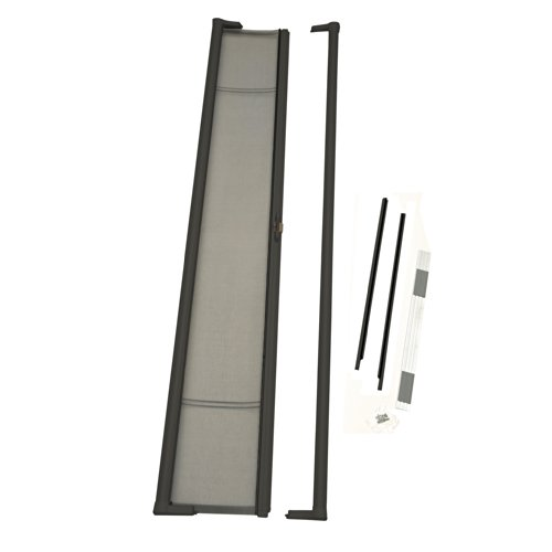 ODL Brisa Premium Retractable Screen for 96 in. Inswing/Outswing Hinged Doors - Bronze
