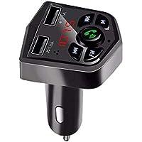 Bluetooth 5.0 Car Kit mãos-livres sem fio Bluetooth FM Transmissor Car MP3 Player 3.1A Carregador USB duplo de…