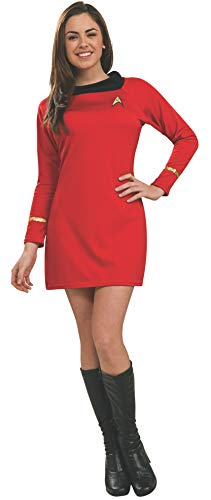 Rubie's Costume Star Trek Classic Deluxe Red Dress, Adult XS -