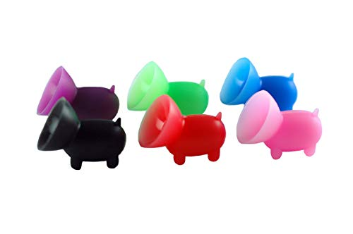 6 Pack - The Original Piggy Cell Phone Stand/Phone Grip/Cell Phone Accessory (Pig Holder)