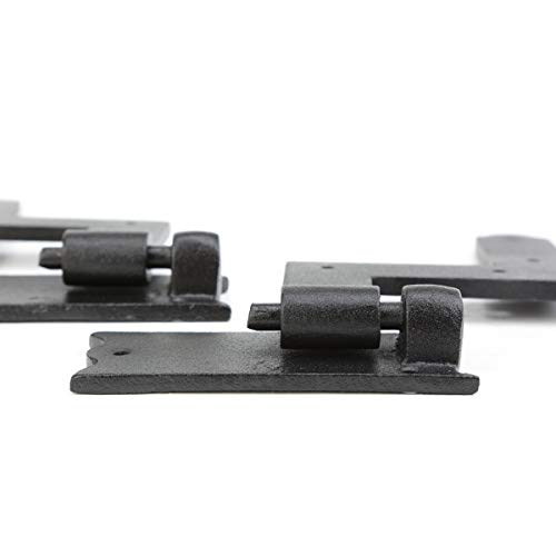 Renovator's Supply Shutter Hinge Hardware Black Iron 6 Inch X 6 1/2 Inch Set Of 6 by Renovator's Supply (Image #5)