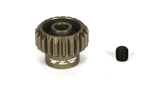 (Team Losi Racing 48P Aluminum Pinion Gear, 21T, TLR332021)