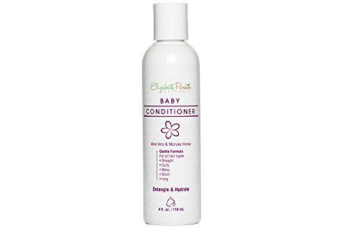 Baby Hair Conditioner - Detangler for Easy to Brush Hair- Relieves Scalp Conditions (Cradle Cap, Dermatitis, Eczema, Dandruff, etc) 4ounce