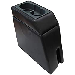 Rampage Products 34023 Padded Center Console for 1986-1994 Suzuki Samurai, Charcoal