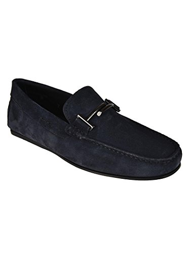 Suede XXM0LR0Q700RE0U805 City in Gommino Tod's Uomo Mocassini Blu fqpnB