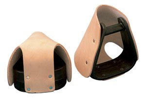 - Weaver Leather Synthetic Pony Stirrups with Tapaderos