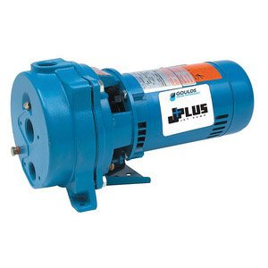 Goulds J5 Jet Pump, 1-1/4'' NPT Inlet x 1'' NPT Outlet, 1/2 hp by Goulds