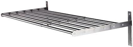 IKEA GRUNDTAL - Tendedero, pared, de acero inoxidable - 67 a 120 cm: Amazon.es: Hogar