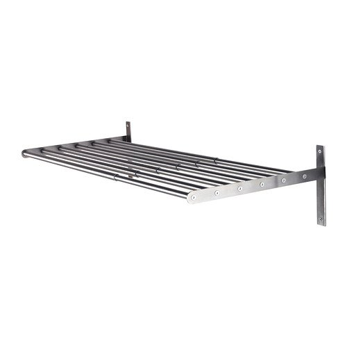 "Ikea Wall Mount Clothes Drying Rack 26 3/8-47 1/4"" Stainless"