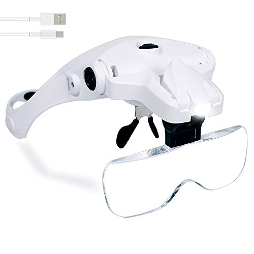 Hands Free Headband Magnifying