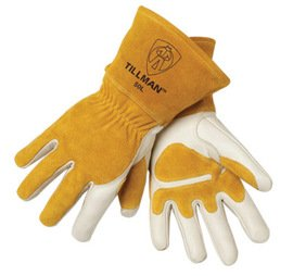 John Tillman Top Grain Cowhide Mig Glove Fleece Lined Palm Reinforcements Size Xl Carded -1 Pack of 6 Pair by JOHN TILLMAN (Image #1)