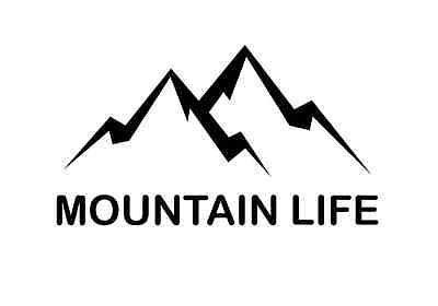 MOUNTAIN LIFE VINYL STICKER (Mountain Life)
