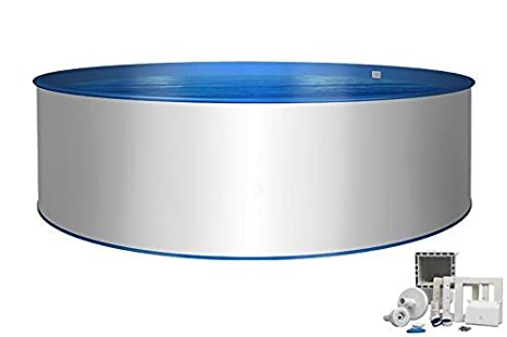 Pool – PREMIUM Diámetro 4,00 x 1,20 m, Cubierta de acero