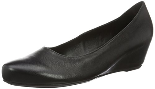 Högl 0- 12 4200 - zapatos de tacón cerrados de cuero mujer negro - negro