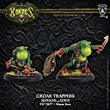 (Privateer Press Croak Trappers: Minion Unit (Resin) Miniature Game Figure )