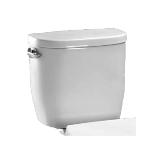 Toto ST243E#01 Entrada Close Coupled Elongated Toilet Tank and Cover, White White