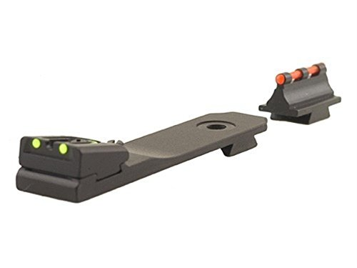 Williams Fire Sight Set Browning BLR Aluminum Black Fiber Optic Green