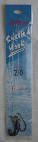 144-pcs-24-packs-snelled-hook-2-0-new