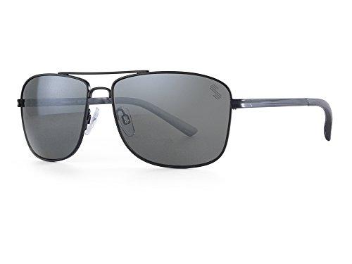 Sundog Credo Sunglasses, Matte Black Frame/Smoke Polarized - Sunglasses Sundog Polarized