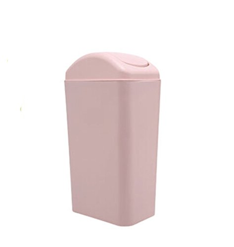 Creative kitchen trash can rectangle trash can sitting room trash bins bedroom waste container - Pink kitchen trash can ...