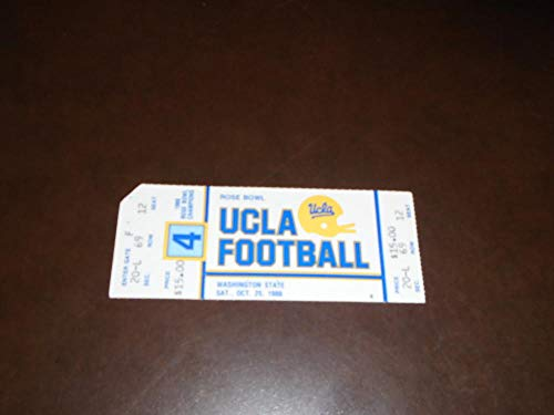 Used, 1986 WASHINGTON STATE AT UCLA COLLEGE FOOTBALL FULL for sale  Delivered anywhere in USA