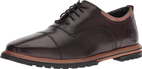 Cole Haan Lace Oxfords - Cole Haan Mens Raymond Grand Cap Toe Oxford 12 Dark Coffee Handstain