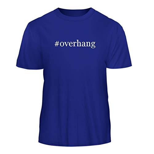 Tracy Gifts #Overhang - Hashtag Nice Men's Short Sleeve T-Shirt, Blue, Medium