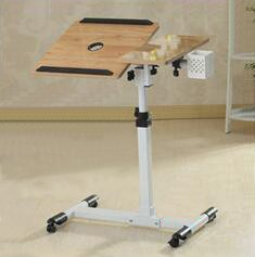 Laptop Carts Mobile Standing Desk Adjustable Table for Bed Home Office Furniture from Burei