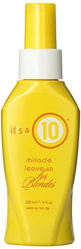 It's a 10 Miracle Leave in for Blonds 4 Oz
